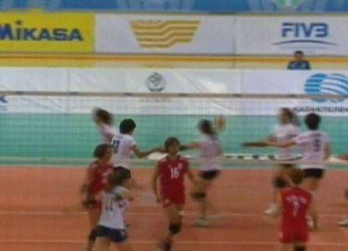 วอลเลย์บอลสาวไทย ชนะ ไต้หวัน 3-0 เอเชียนคัพ 2012