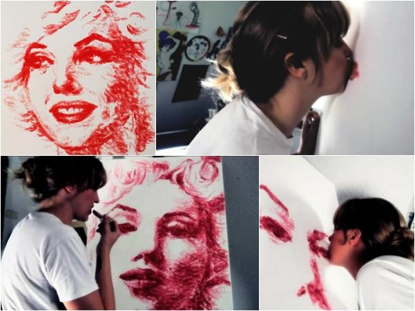 มาดู...ใช้อวัยวะวาดรูปเจ๋ง ๆ สร้างผลงานศิลปะสุดทึ่ง