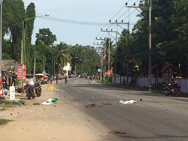 ระเบิดหน้าโรงเรียนตาบา