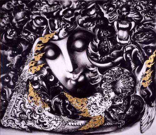 ภาพวาดถวัลย์ ดัชนี ผลงานอันทรงคุณค่าทางศิลปะ