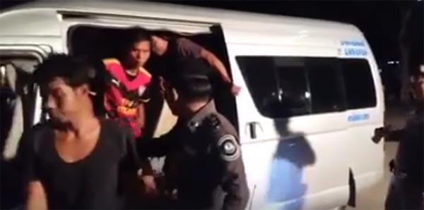 ทำได้ไง ? ตำรวจจับรถตู้ขนต่างด้าว พบแรงงานอัดแน่น 41 คน