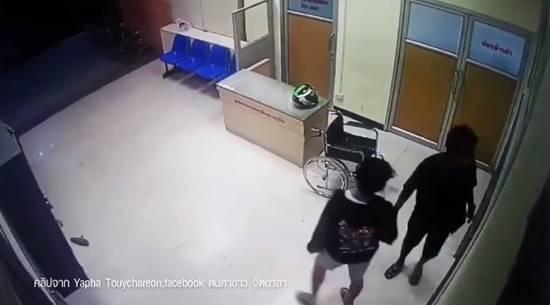 แก๊งวัยรุ่นถล่มอริในโรงพยาบาล