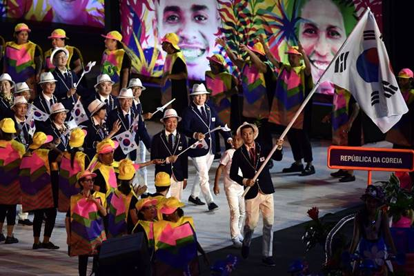 จุใจ ! ประมวลภาพพิธีเปิดโอลิมปิก 2016 Rio Games งดงามตระการตาจุใจ ! ประมวลภาพพิธีเปิดโอลิมปิก 2016 Rio Games งดงามตระการตา