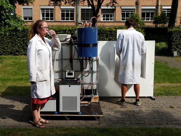 นักวิทย์ประดิษฐ์เครื่องเปลี่ยนฉี่ให้เป็นน้ำดื่มบริสุทธิ์