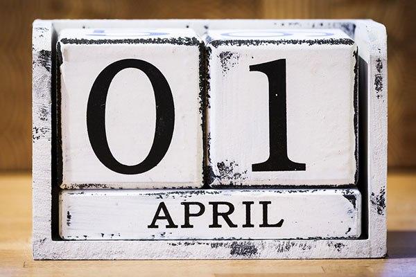 1 เมษายน 2564