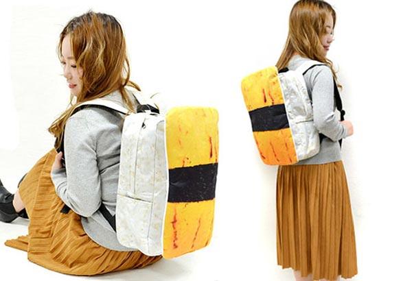 กระเป๋าเป้รูปซูชิ