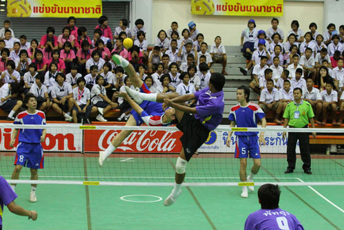 ประวัติตะกร้อ กีฬาระดับภูมิภาคเอเชีย