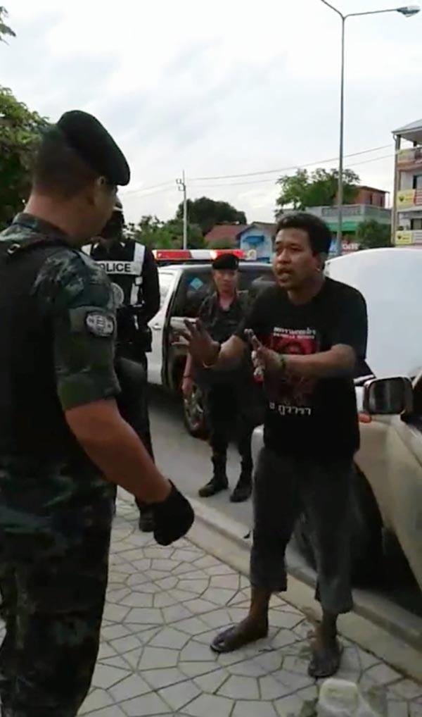 วันรุ่นเมาทะเลาะตำรวจสายไหม