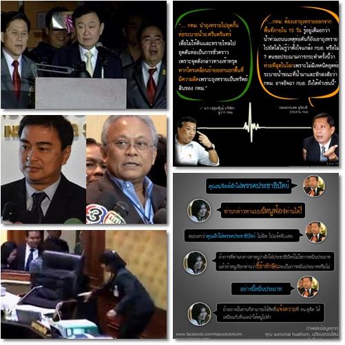 เกาะกระแสร้อน 10 ข่าวเด่นการเมืองไทย ปี 2555