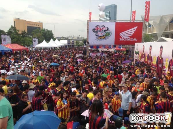 บาร์เซโลน่า vs ทีมชาติไทย
