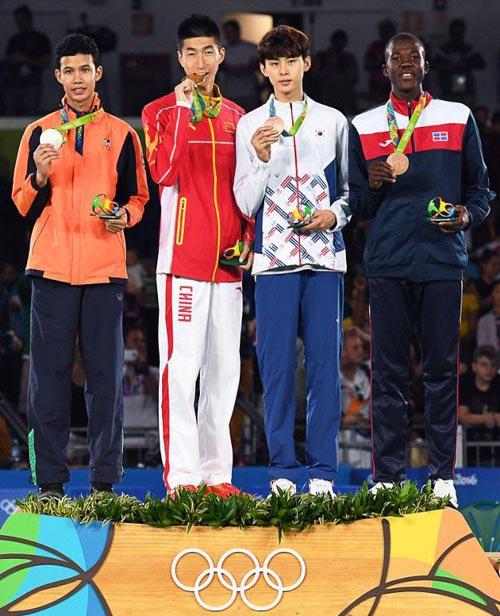 เทม เทวินทร์ คว้าเหรียญเงิน เทควันโด โอลิมปิก 2016