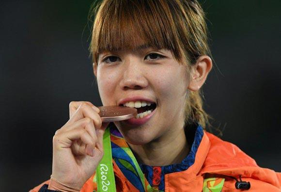 น้องเทนนิส พาณิภัค คว้าเหรียญทองแดง เทควันโด โอลิมปิก 2016