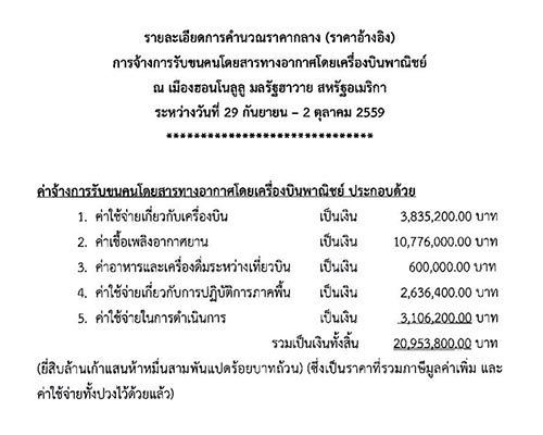 แจง บิ๊กป้อม ใช้งบ 20 ล้าน ไปดูงานต่างประเทศ