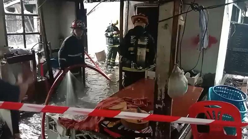 เฮียร้านข้าวหมูแดง ตายในบ้านไฟไหม้ ที่แท้ถูกฆ่าอำพราง ภาพชัด ฝีมือคนใกล้ตัว