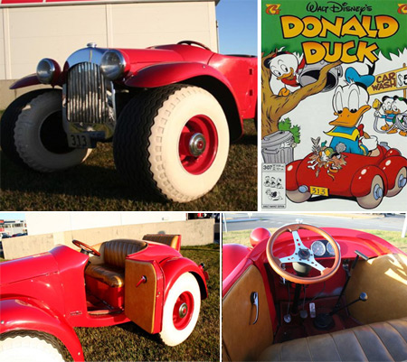Donald Duck's Car