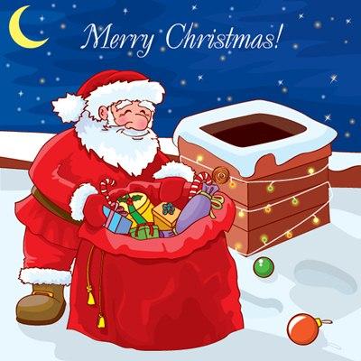ซานตาคลอส วันคริสต์มาส