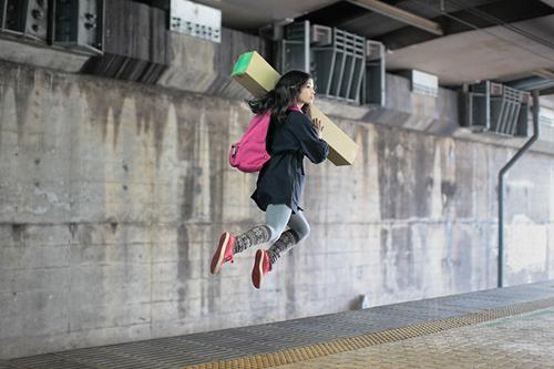เลวิเทติ้ง levitating